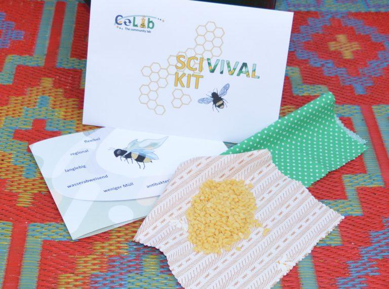 Kit 2: DIY-Bienenwachstücher